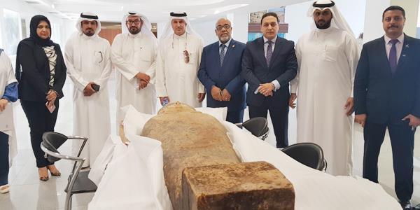 مصر تشكر الكويت على إعادة «التابوت الفرعوني»