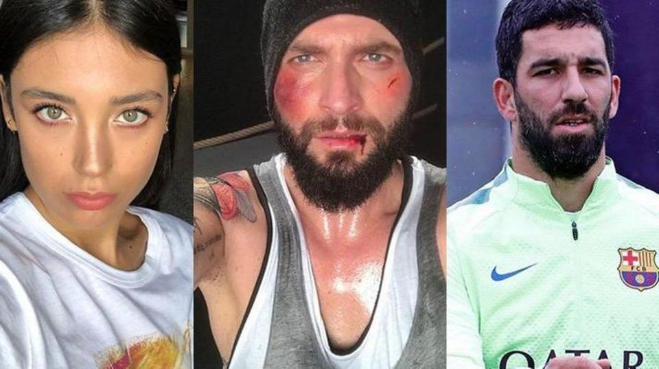 لاعب برشلونة يتحرش بامرأة.. ويكسر أنف زوجها