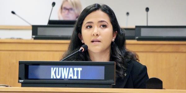 الكويت تؤكد حق المرأة في حياة خالية من العنف والاضطهاد