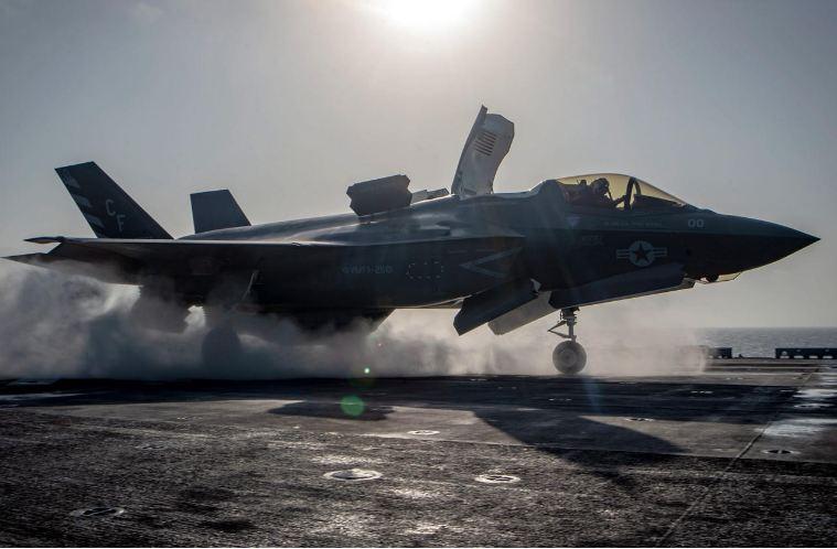 «البنتاغون» يوقف تحليق مقاتلات «إف-35» في العالم بعد حادث تحطم