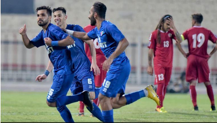 «الأزرق» يتغلب على ضيفه اللبناني بهدف زايد