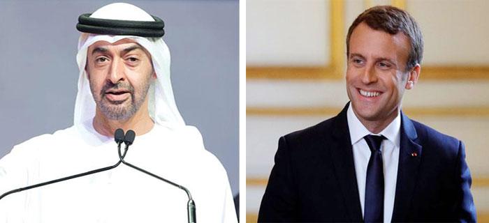 الرئيس الفرنسي يستقبل الثلاثاء ولي عهد أبوظبي