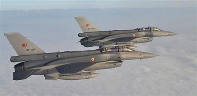 سلاح الجو التركي يهاجم مواقع لحزب العمال الكردستاني شمال العراق