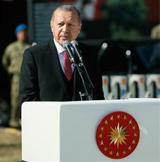أردوغان يتوعد باستئصال أوكار الارهاب شرق نهر الفرات في سوريا