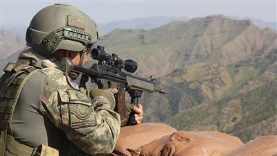 الجيش التركي: تحييد 38 إرهابيًا خلال أسبوع