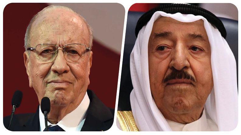 سمو الأمير يعزي الرئيس التونسي بضحايا الفيضانات