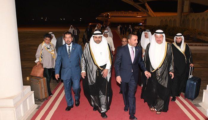 الرئيس الغانم يعود إلى البلاد