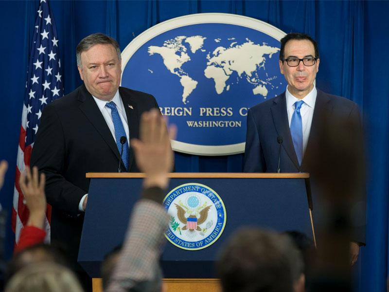 واشنطن: سنضغط طهران بلا هوادة