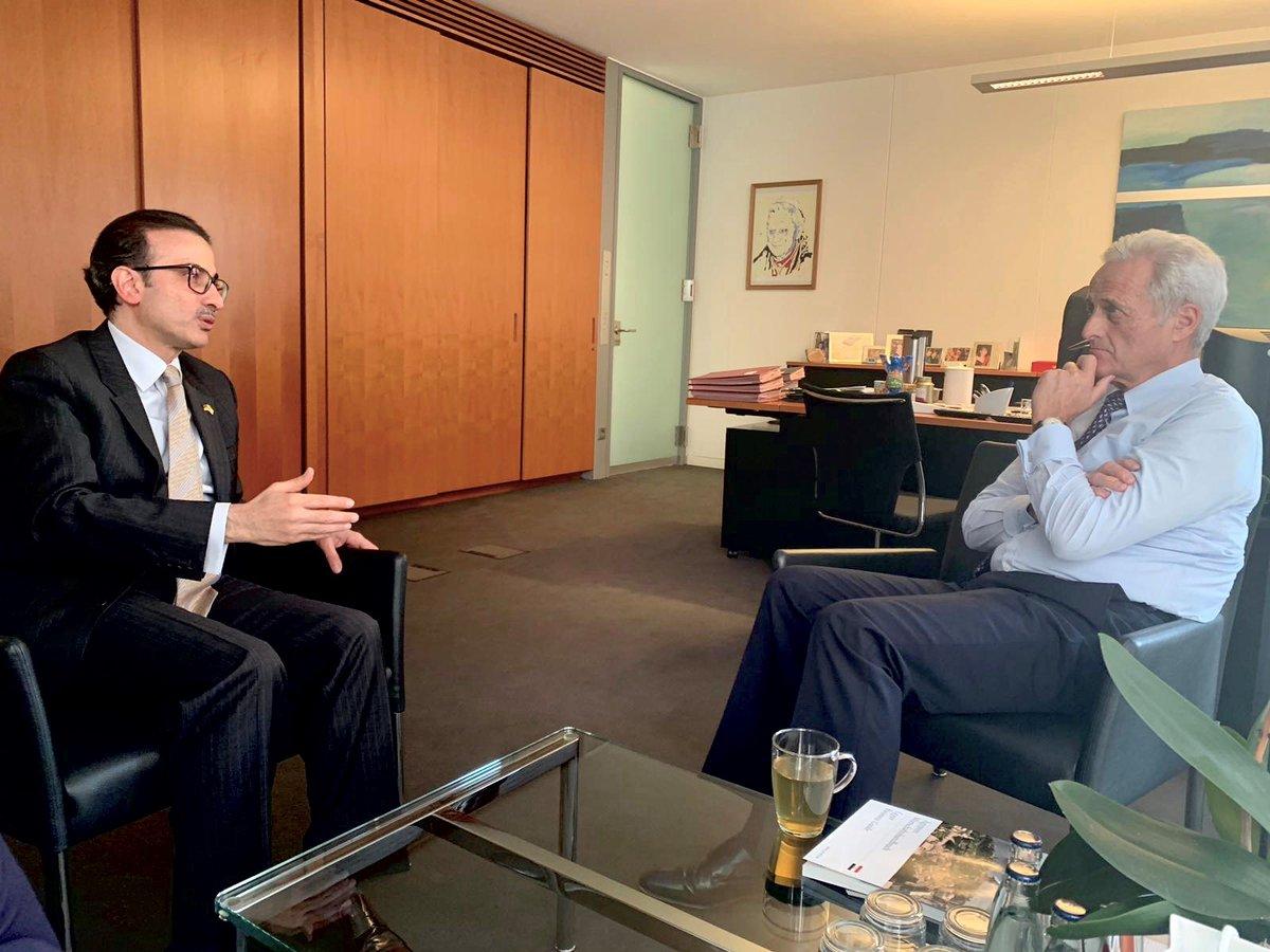 سفيرنا لدى  ألمانيا يدعو لتعميق العلاقات التجارية بين ألمانيا والكويت