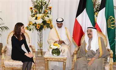 حائزة «نوبل» للسلام: نحتاج دعم ونصائح سمو الأمير في مجال العمل الإنساني