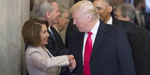ترامب: بيلوسي الديموقراطية تستحق أن تكون رئيسة مجلس النواب