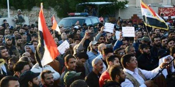 عودة التظاهرات إلى محافظة البصرة العراقية