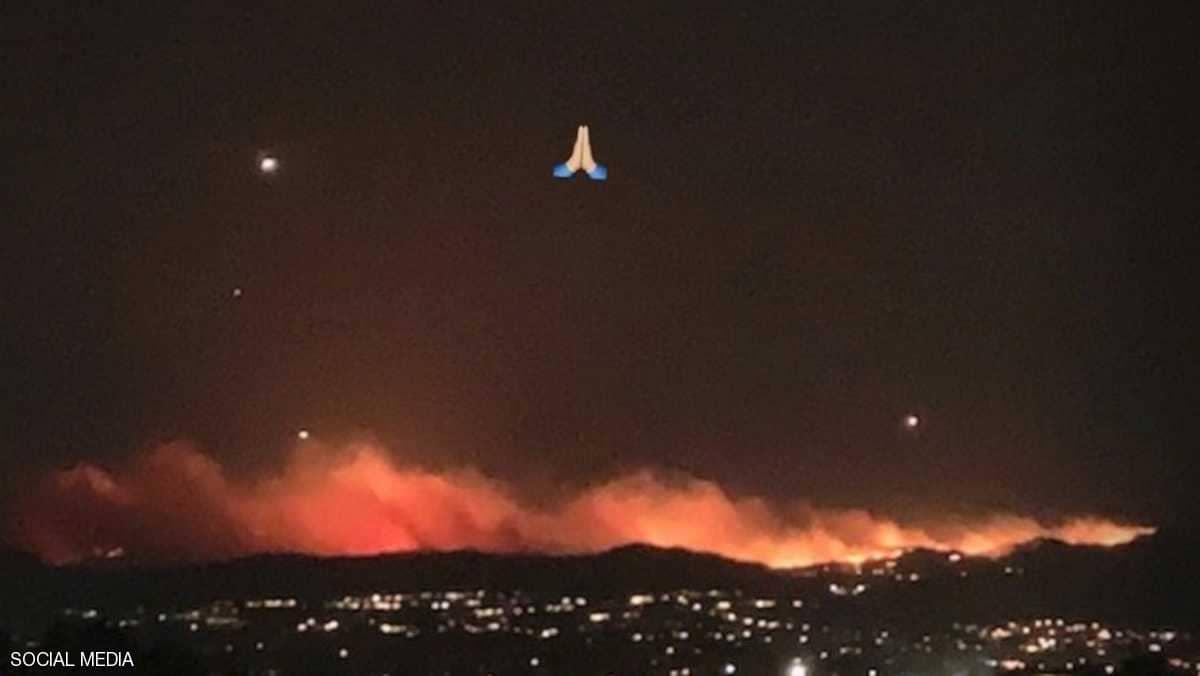 """النيران تحاصر كيم كاردشبان وتجبرها على """"قرار صعب"""""""