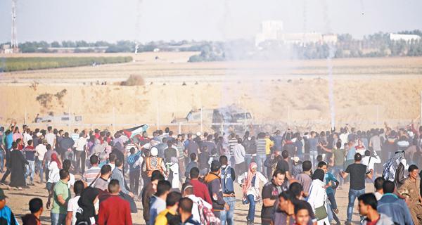 إصابات خلال تفريق جيش الاحتلال مسيرات في الضفة الغربية
