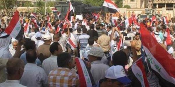 تظاهرة في محافظة البصرة العراقية للمطالبة بجعلها إقليما