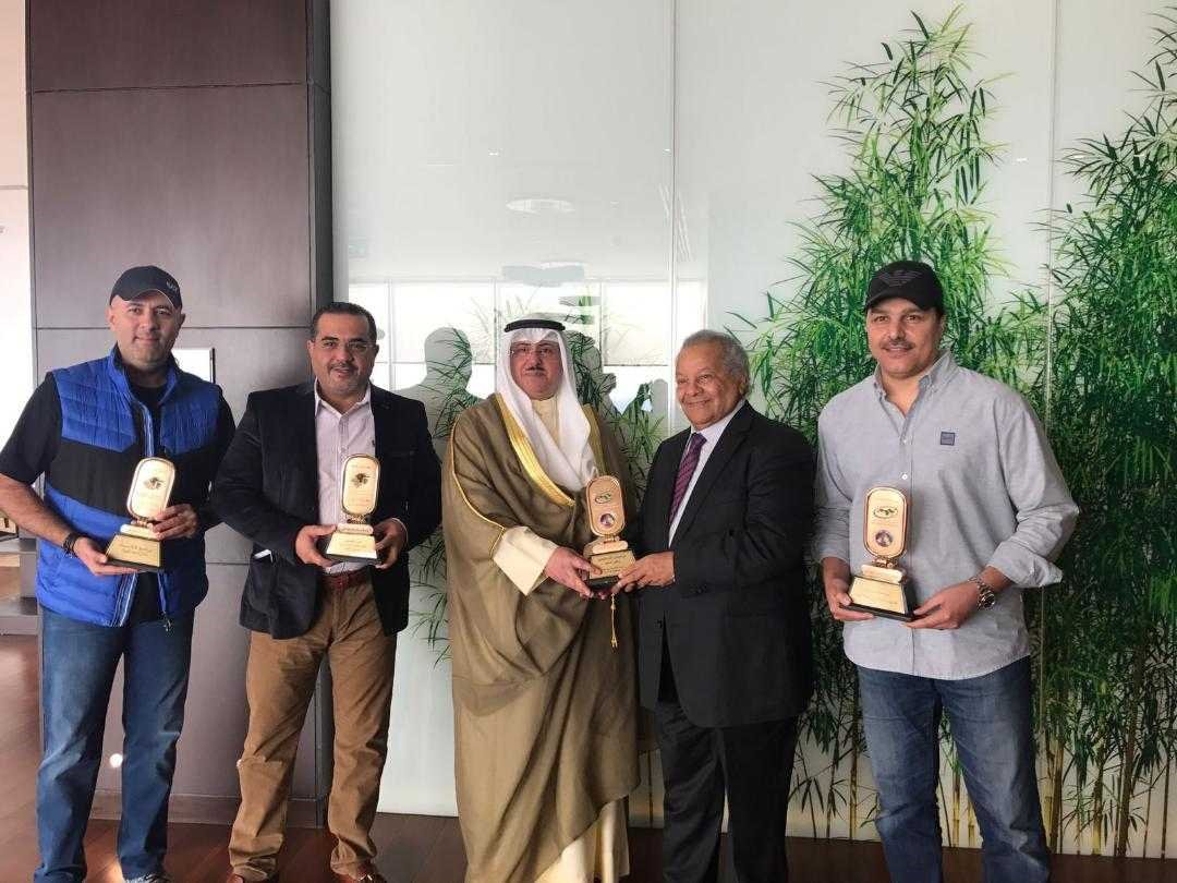 الكويت الاولى عربيا بـ 63 جائزة في مونديال القاهرة للأعمال الفنية