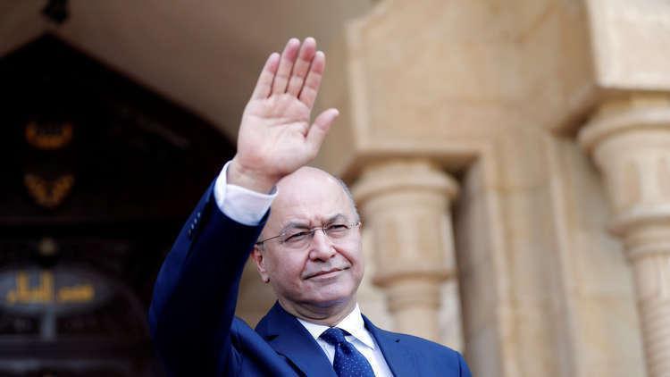 الرئيس العراقي يزور الأردن غدا بدعوة من العاهل الأردني