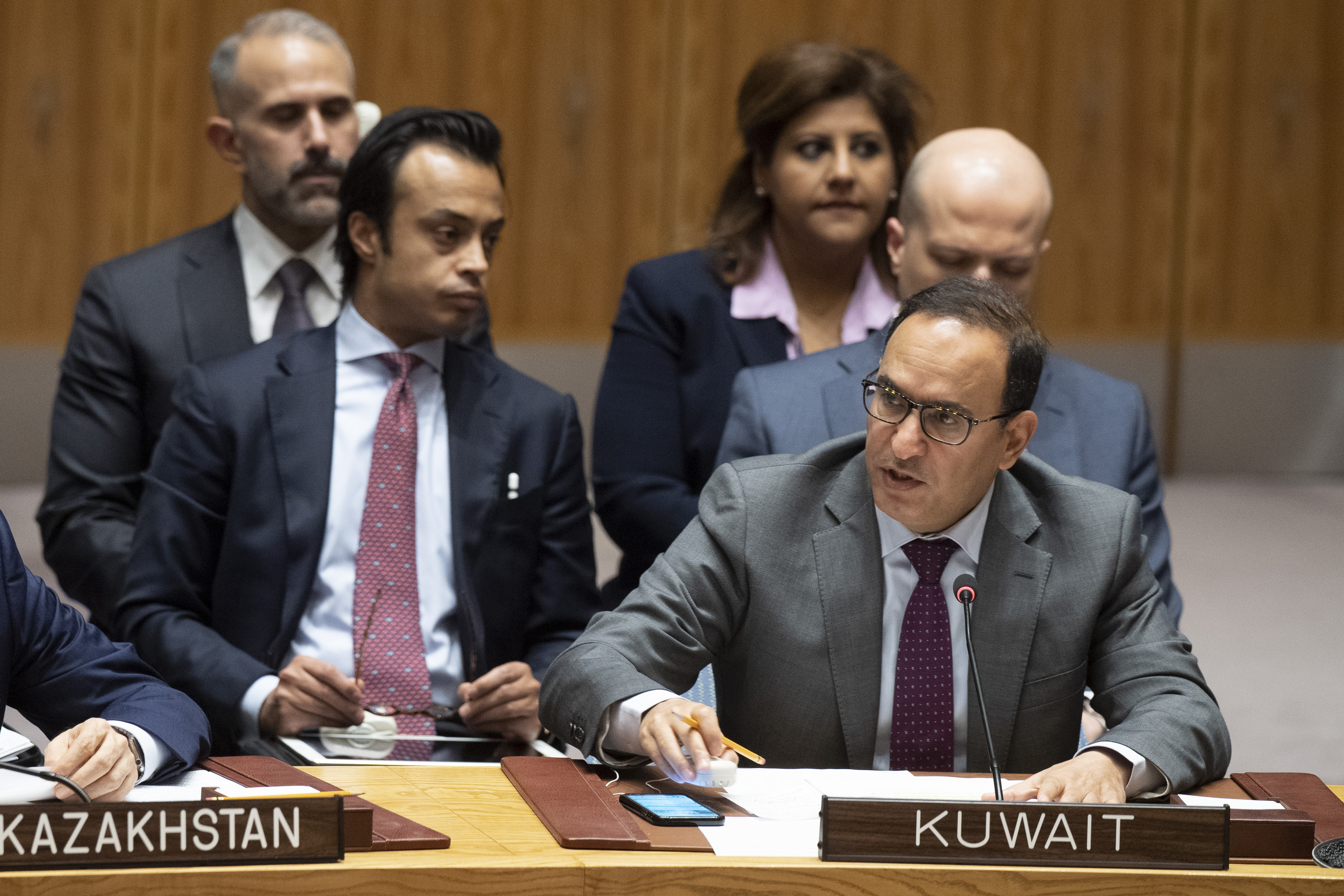 الكويت ترحب باعتماد مجلس الامن قرار رفع العقوبات عن اريتريا