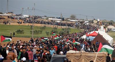 غزة تستعد للجمعة الـ 34 لمسيرات العودة.. بعنوان «التطبيع جريمة وخيانة»