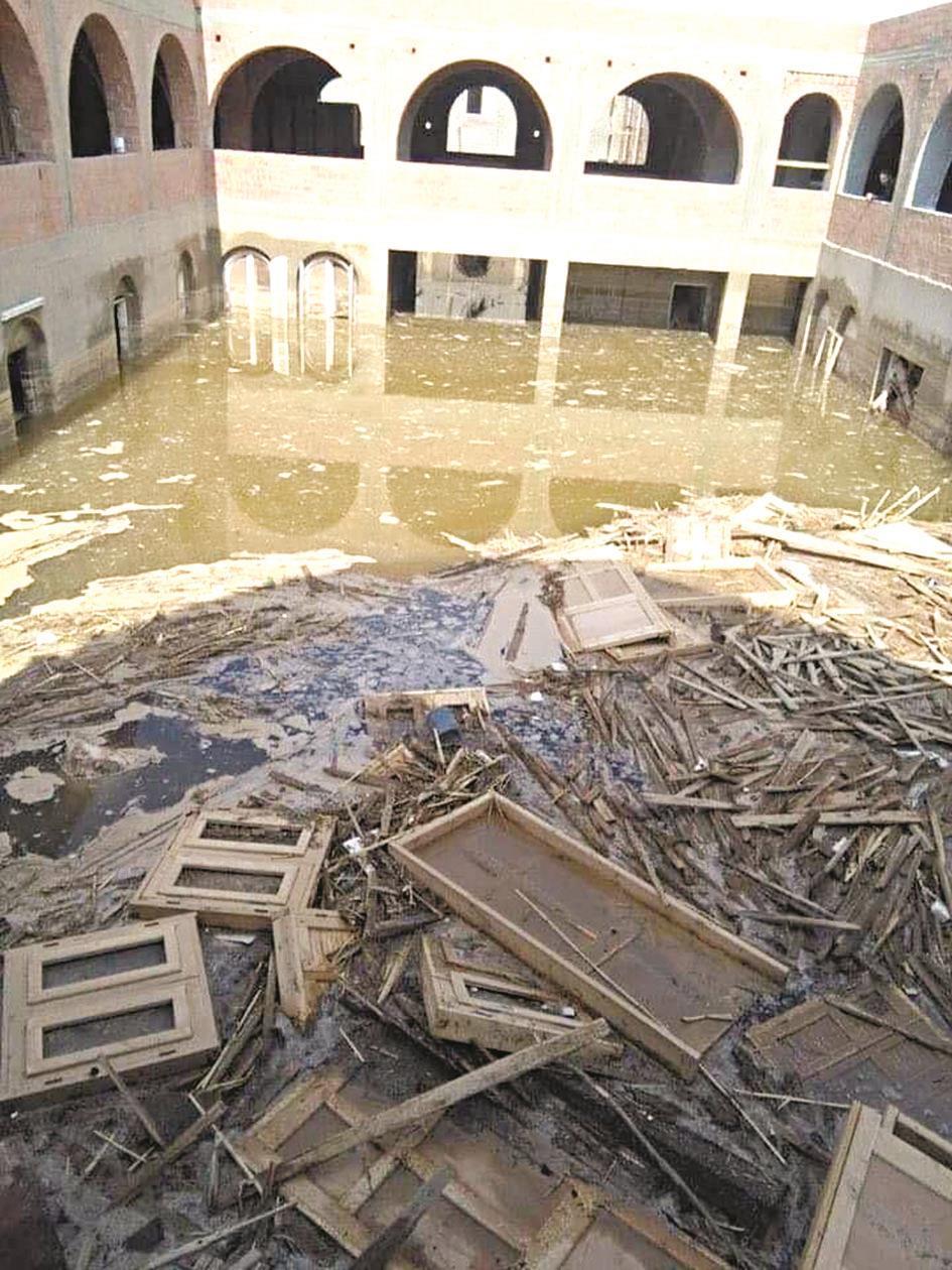 الأمطار أغرقت 3 مناطق في الإسكندرية