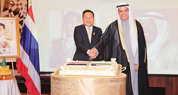 السعيد في حفل السفارة التايلندية: الرئيس الفلبيني أجَّل زيارته للبلاد
