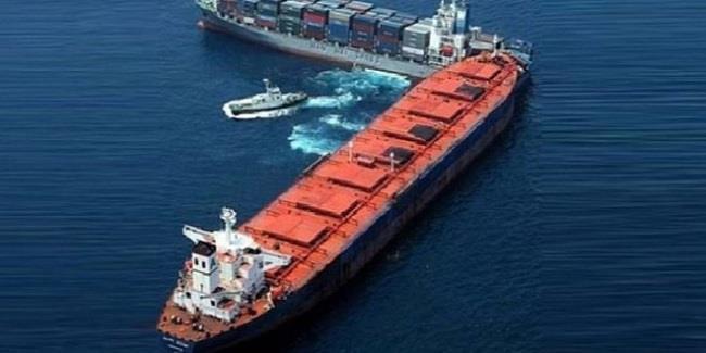 اصطدام سفينتي شحن في بحر إيجه.. ولا إصابات
