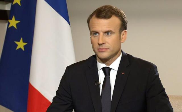 خطاب للرئيس الفرنسي بشأن الاحتجاجات