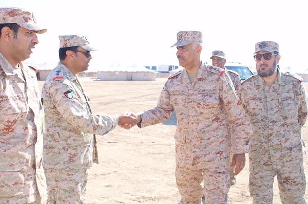 رئيس الأركان يشهد مشروع جند الوطن 2 بالكلية العسكرية