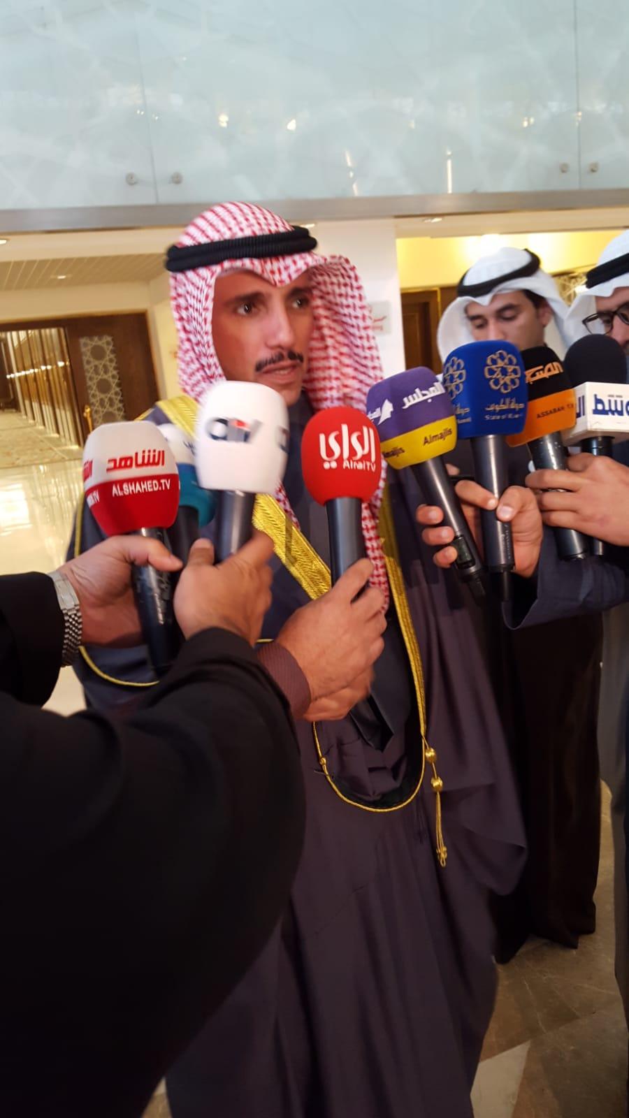 الغانم: ننتنظر رد المحكمة الدستورية على الاستشكال المقدم