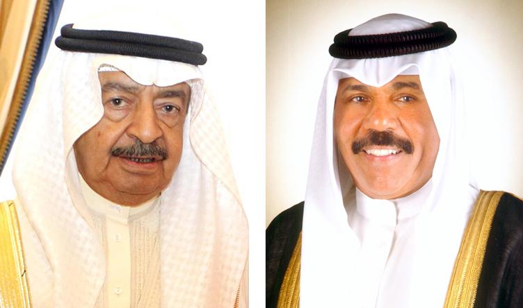 سمو ولي العهد يجري اتصالا هاتفيا برئيس وزراء البحرين