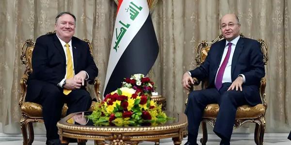 بومبيو: العراق «شريك استراتيجي مهم» لواشنطن.. وملتزمون بمحاربة «الإرهاب» فيه