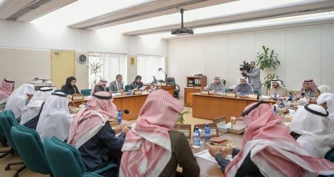 اللجنة الصحية تبحث تبادل الخبرات مع وفد الصداقة البرلمانية السعودية الكويتية
