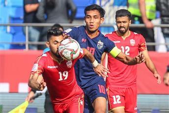 تايلاند تهزم البحرين وتشعل صراع المجموعة الأولى في كأس آسيا 2019
