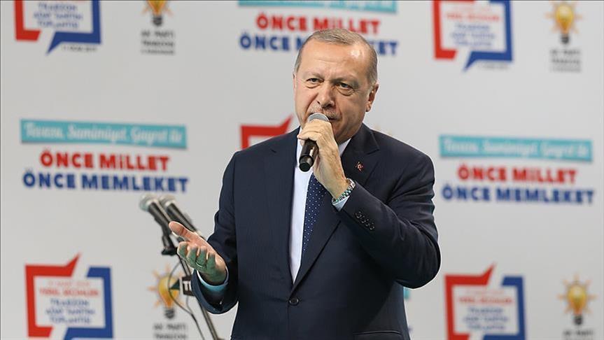 """أردوغان: من حاولوا نقل """"الربيع العربي"""" لتركيا يتجرعون الآن مرارة ذلك"""