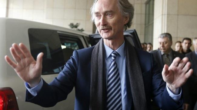 بيدرسون يغادر سورية ويؤكد الحاجة الى حل سياسي للنزاع برعاية الأمم المتحدة