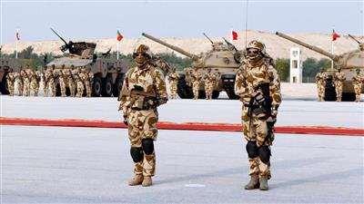 البحرين تجري مناورات عسكرية مشتركة مع مصر