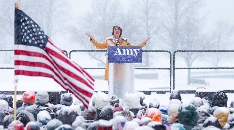 السناتور الديموقراطية ايمي كلوبوشار تعلن خوضها سباق الرئاسة الأميركية