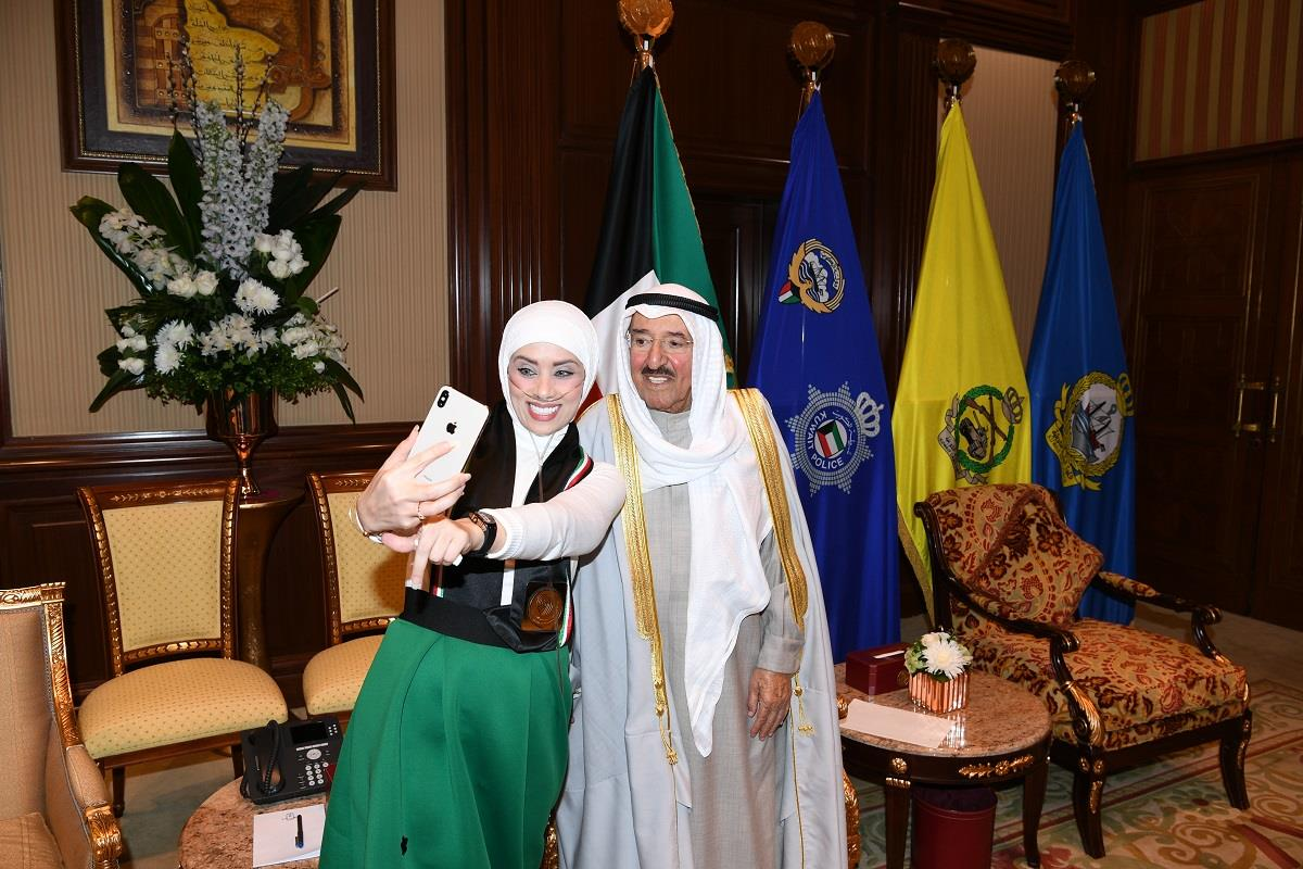 شيماء العيدي: لقائي مع سمو الأمير منحني أفضل جرعة أمل إيجابية لمواجهة المرض