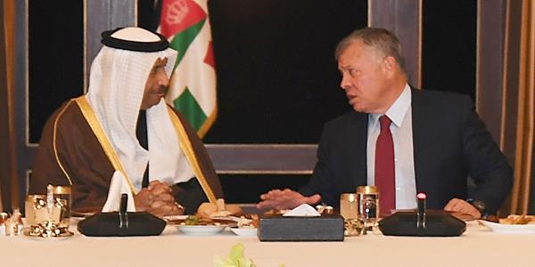 الملك عبدالله الثاني: نقدر وقوف الكويت المستمر إلى جانب الأردن