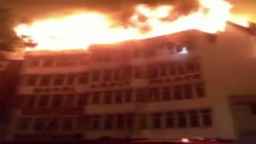 مقتل تسعة أشخاص على الأقل في حريق فندق بالهند