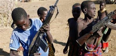 «يونسيف»: تحرير 120 طفلًا مقاتلًا بصفوف المعارضة في جنوب السودان