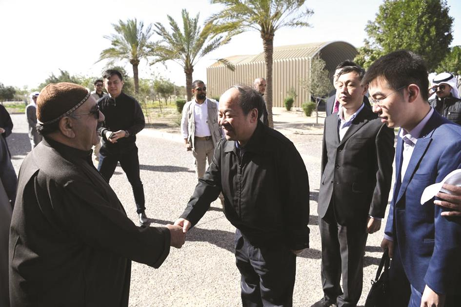 ناصر الصباح: حريصون على تعزيز العلاقات مع الصين