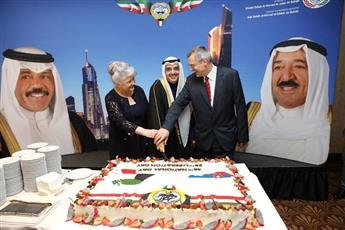 سفارتا الكويت لدى سلوفاكيا والسنغال تحتفلان بالأعياد الوطنية