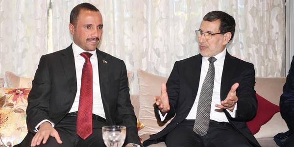 الغانم يبحث ورئيس الحكومة المغربية مستجدات الأوضاع العربية والدولية