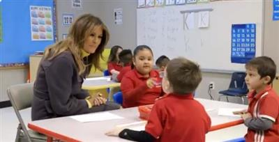 ميلانيا ترامب تزور مدرسة تابعة لحركة غولن
