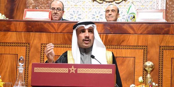الغانم يدعو الدول الإسلامية إلى الإيمان بقدراتها والانفتاح على الشركاء الإقليميين والدوليين والتفاعل والتحاور