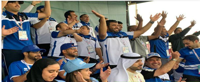 الكويت يمزق شباك نيبال في الأولمبياد الخاص