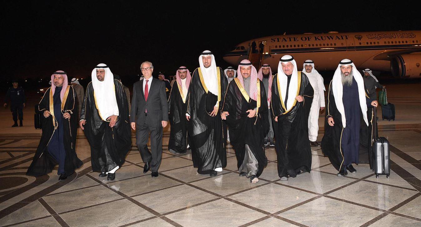 الغانم يعود إلى البلاد عقب مشاركته في اجتماع «مجالس التعاون الإسلامي»