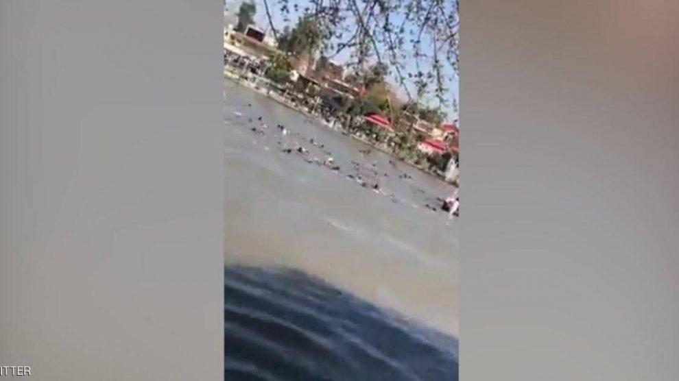 مصرع 45 شخصا بغرق عبارة في نهر دجلة بالعراق