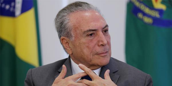 اعتقال الرئيس البرازيلي السابق ميشيل تامر